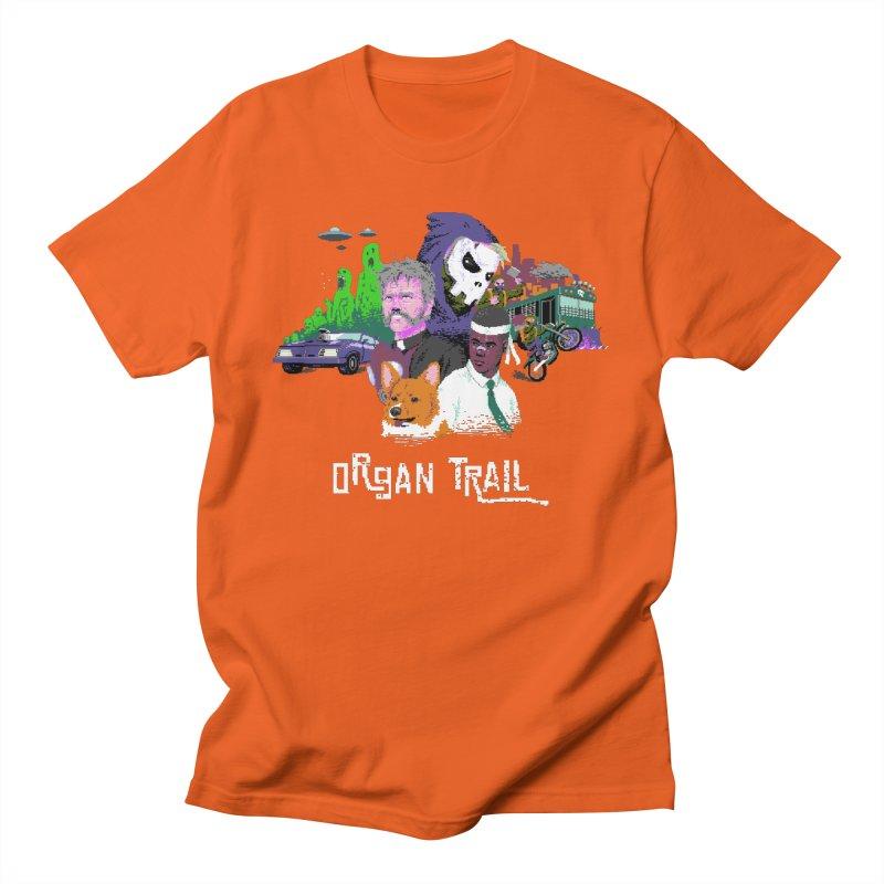 Organ Trail Final Cut Men's T-Shirt by The Men Who Wear Many Hats