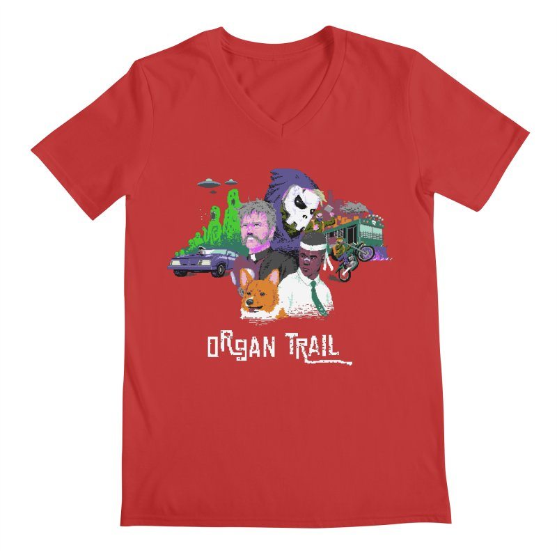 Organ Trail Final Cut Men's V-Neck by The Men Who Wear Many Hats