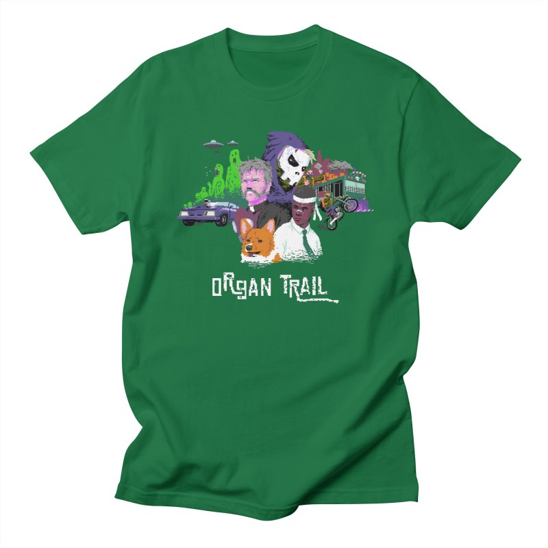 Organ Trail Final Cut Men's Regular T-Shirt by The Men Who Wear Many Hats