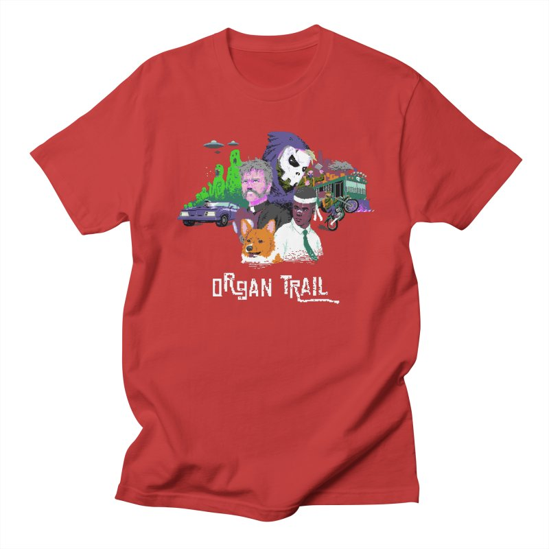 Organ Trail Final Cut Men's T-shirt by The Men Who Wear Many Hats