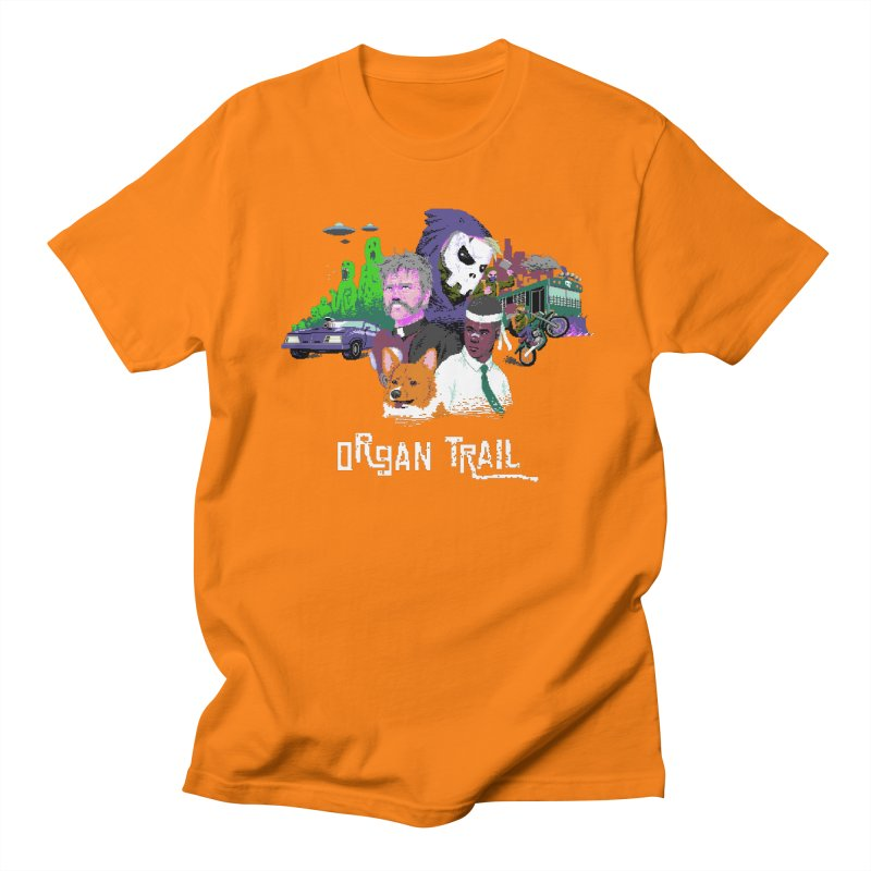 Organ Trail Final Cut Men's Regular T-Shirt by The Men Who Wear Many Hats
