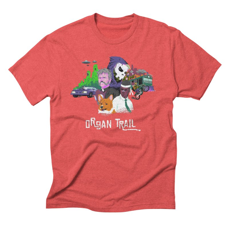Organ Trail Final Cut Men's Triblend T-Shirt by The Men Who Wear Many Hats