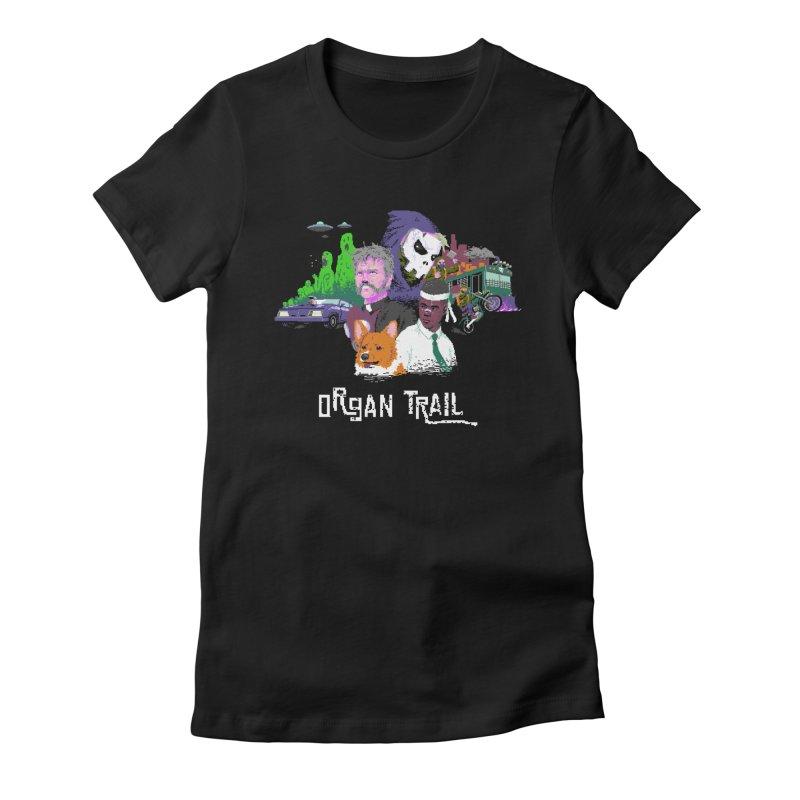 Organ Trail Final Cut Women's T-Shirt by The Men Who Wear Many Hats