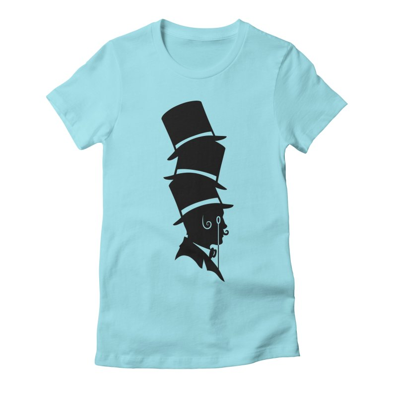 Max Gentlemen  Women's Fitted T-Shirt by The Men Who Wear Many Hats