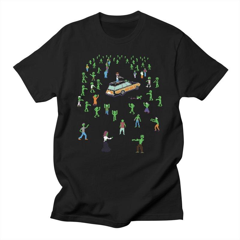 Organ Trail Zombie Horde Men's T-Shirt by The Men Who Wear Many Hats