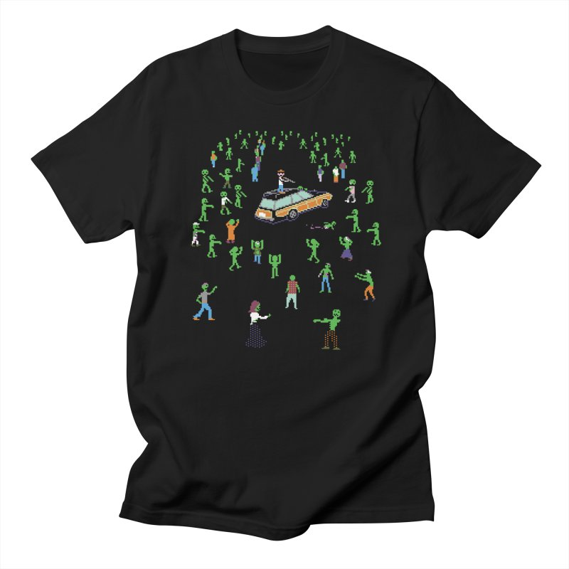 Organ Trail Zombie Horde Men's Regular T-Shirt by The Men Who Wear Many Hats