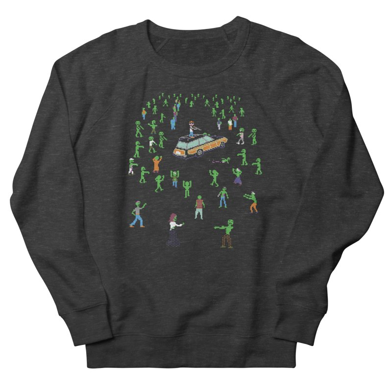 Organ Trail Zombie Horde Men's Sweatshirt by The Men Who Wear Many Hats