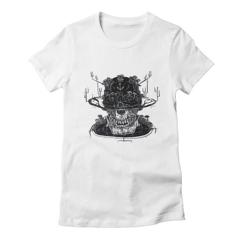 SHAPESHIFT Women's Fitted T-Shirt by Haunted Meat