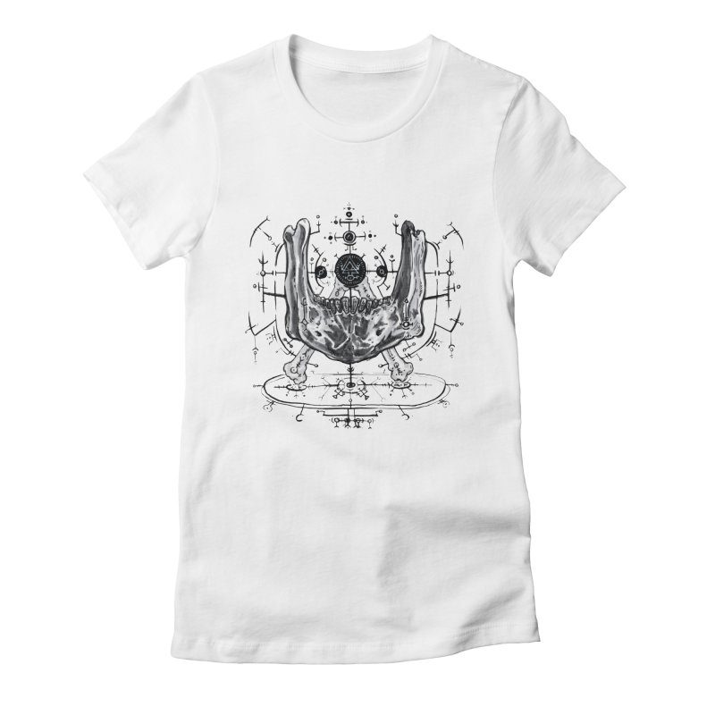 SPELLCRAFT Women's Fitted T-Shirt by Haunted Meat