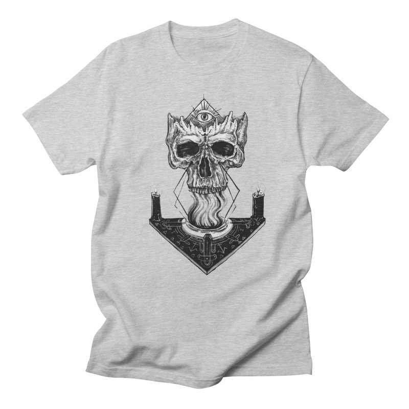 NECROMANCY Men's T-Shirt by Haunted Meat