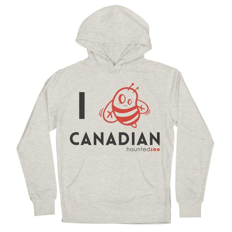 I BEE CANADIAN Men's Pullover Hoody by hauntedzoo's Artist Shop