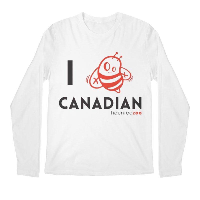 I BEE CANADIAN Men's Longsleeve T-Shirt by hauntedzoo's Artist Shop