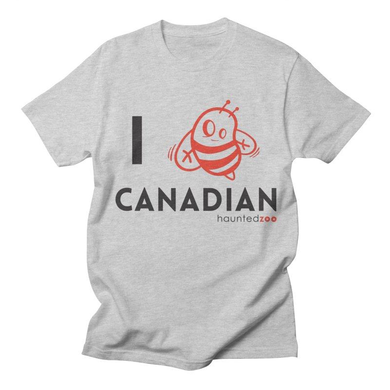 I BEE CANADIAN Women's Unisex T-Shirt by hauntedzoo's Artist Shop