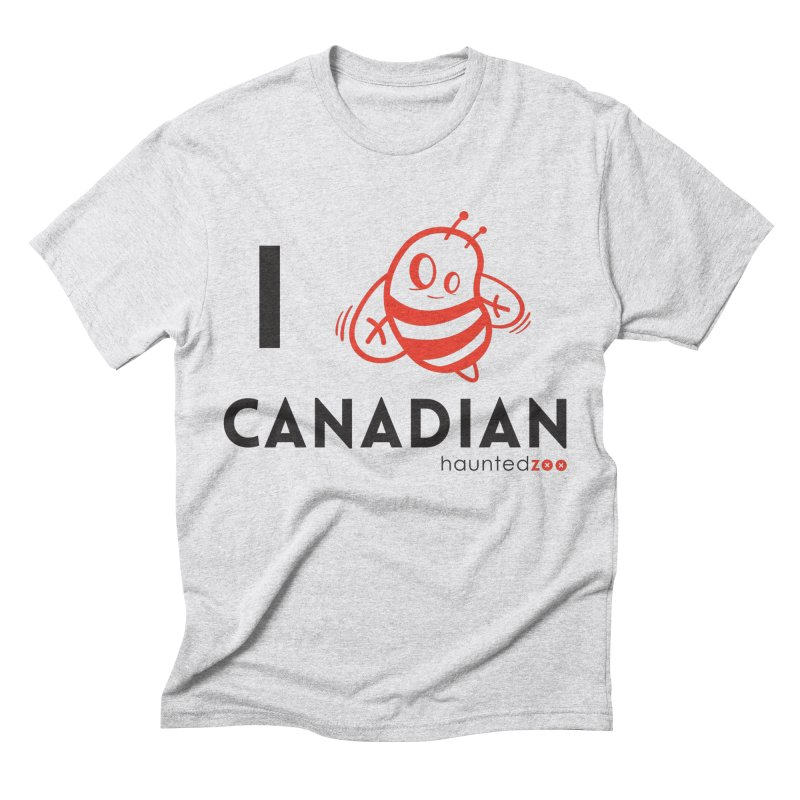 I BEE CANADIAN Men's Triblend T-shirt by hauntedzoo's Artist Shop