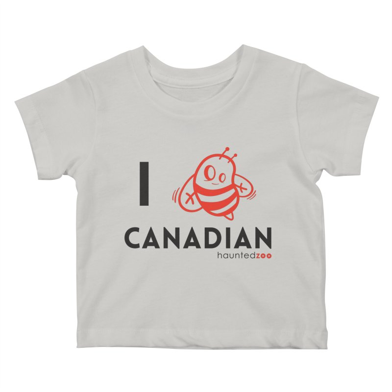 I BEE CANADIAN Kids Baby T-Shirt by hauntedzoo's Artist Shop