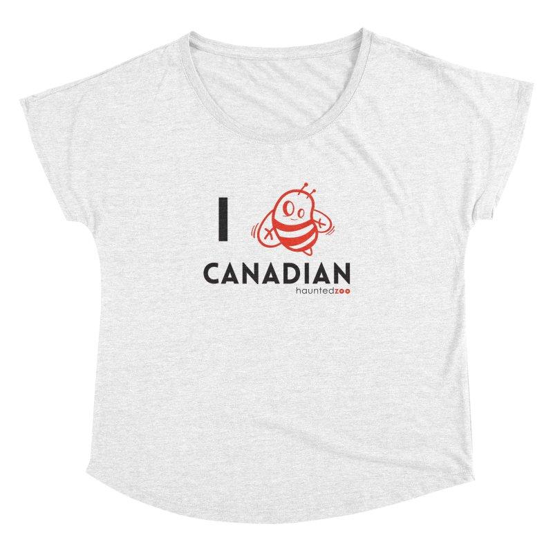 I BEE CANADIAN Women's Dolman by hauntedzoo's Artist Shop