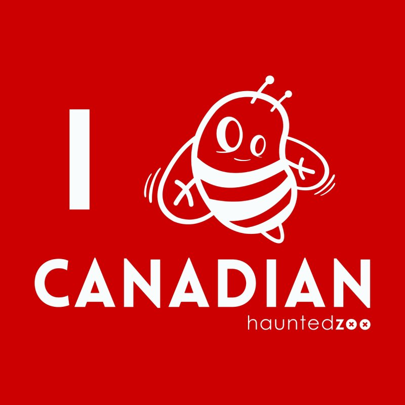 I BEE CANADIAN RED None  by hauntedzoo's Artist Shop