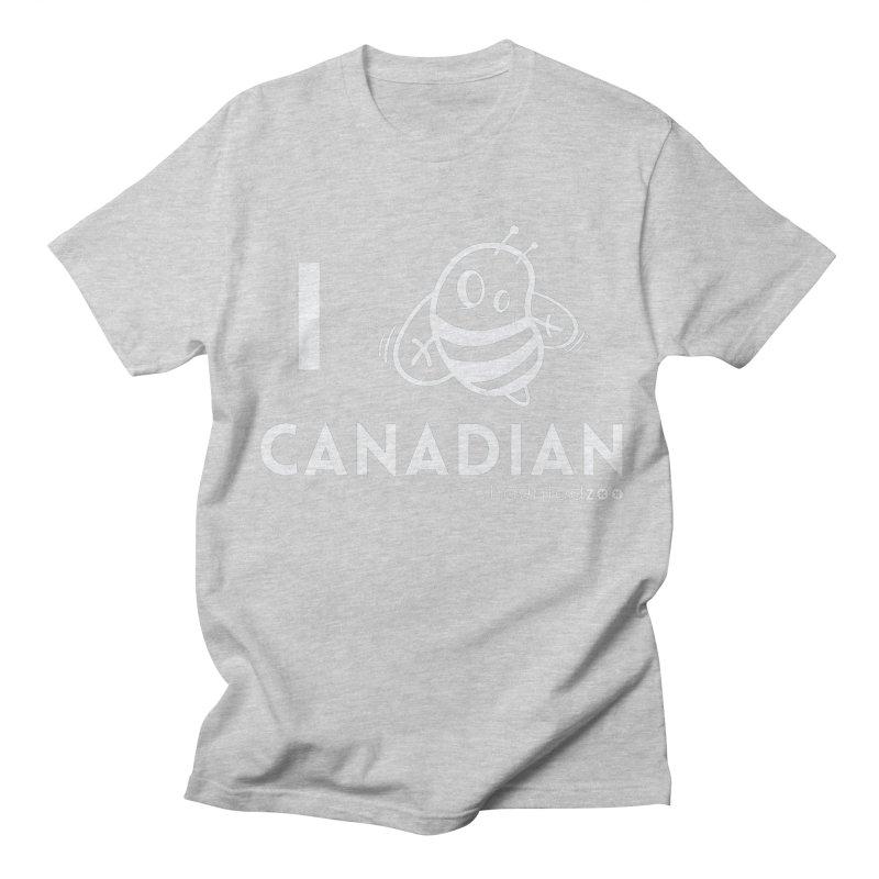 I BEE CANADIAN RED Men's T-shirt by hauntedzoo's Artist Shop