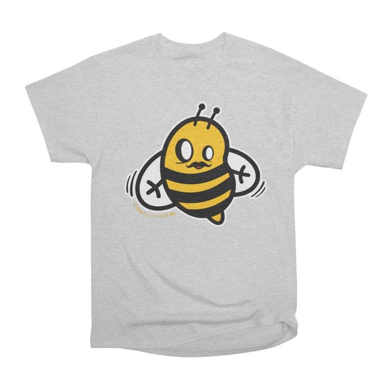 MOVEMBER bee Women's Classic Unisex T-Shirt by hauntedzoo's Artist Shop