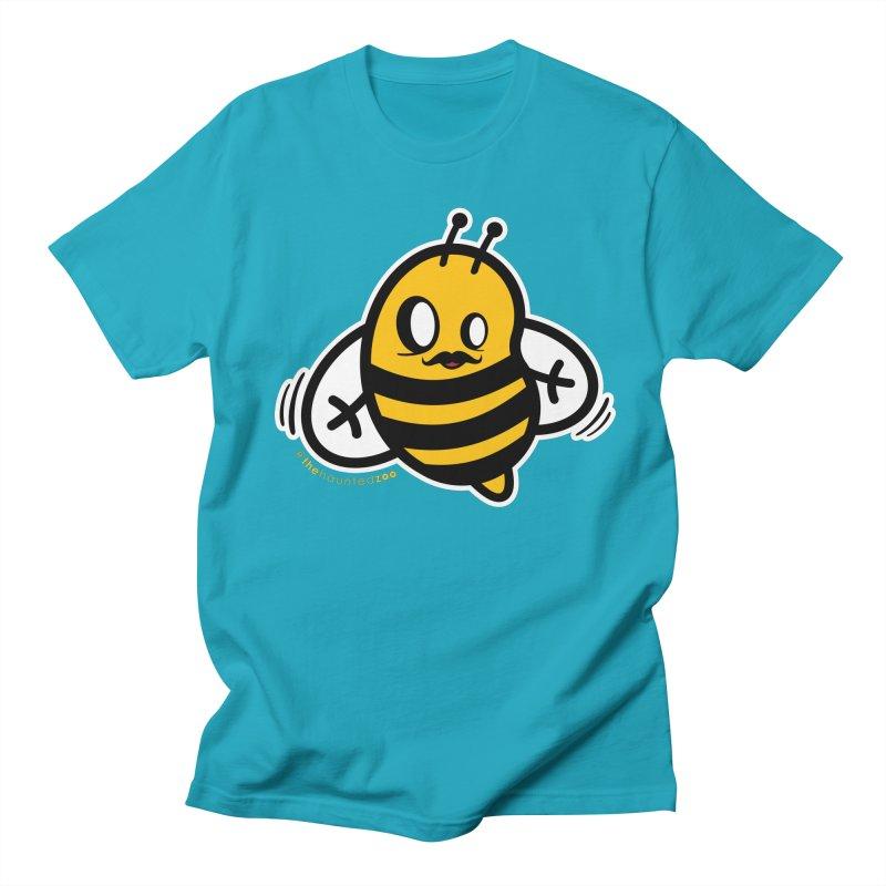 MOVEMBER bee Men's T-Shirt by hauntedzoo's Artist Shop