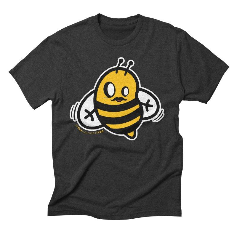 MOVEMBER bee Men's Triblend T-Shirt by hauntedzoo's Artist Shop