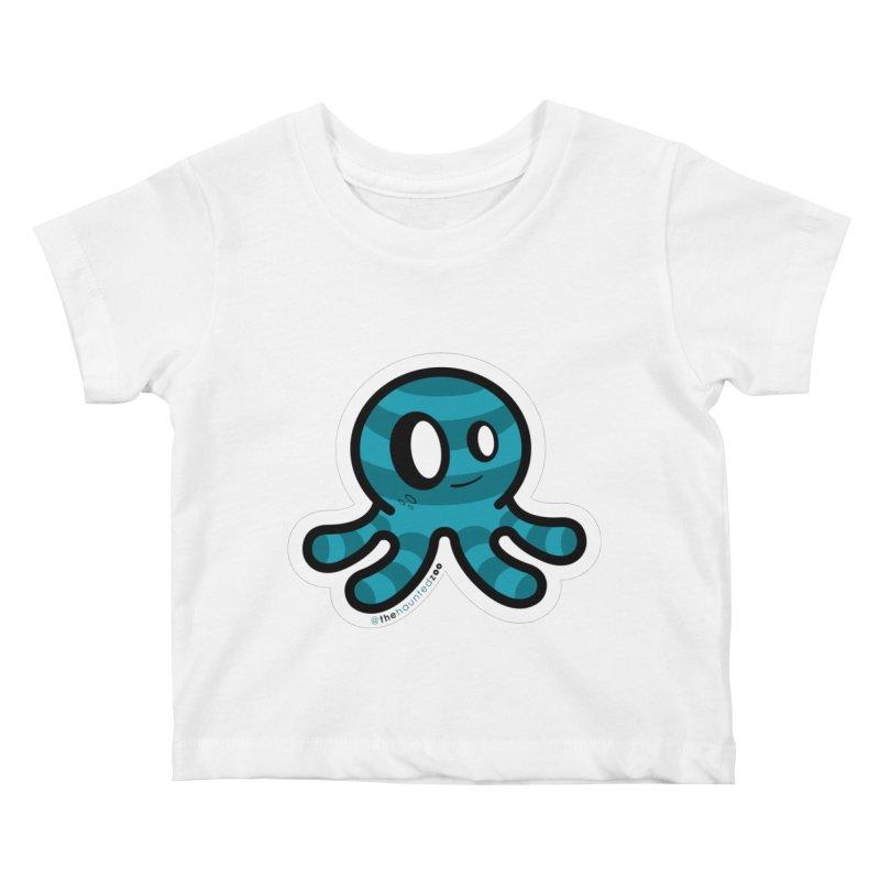 Quadzee Kids Baby T-Shirt by hauntedzoo's Artist Shop