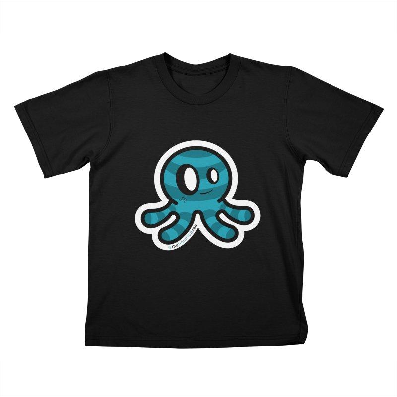 Quadzee Kids T-Shirt by hauntedzoo's Artist Shop