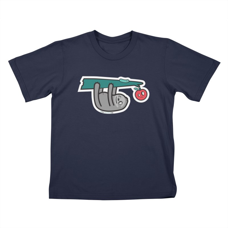 Sloth Kids T-Shirt by hauntedzoo's Artist Shop