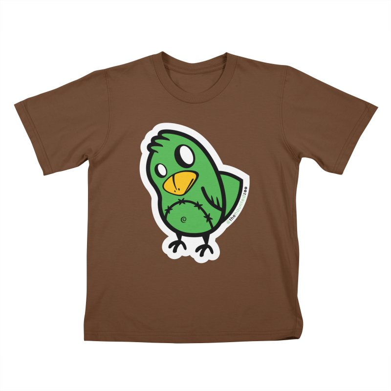 Chirps Kids T-Shirt by hauntedzoo's Artist Shop