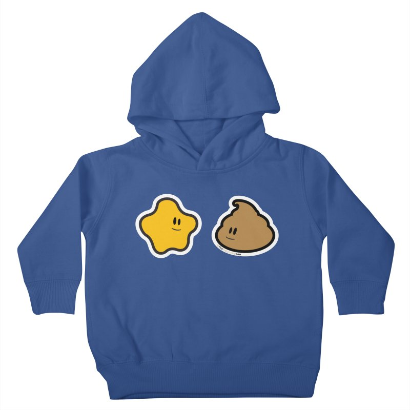 PEE & POO Kids Toddler Pullover Hoody by hauntedzoo's Artist Shop