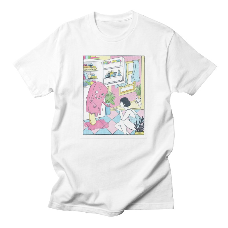 Summer Delirium Men's T-Shirt by Rhymes With Hell Studio