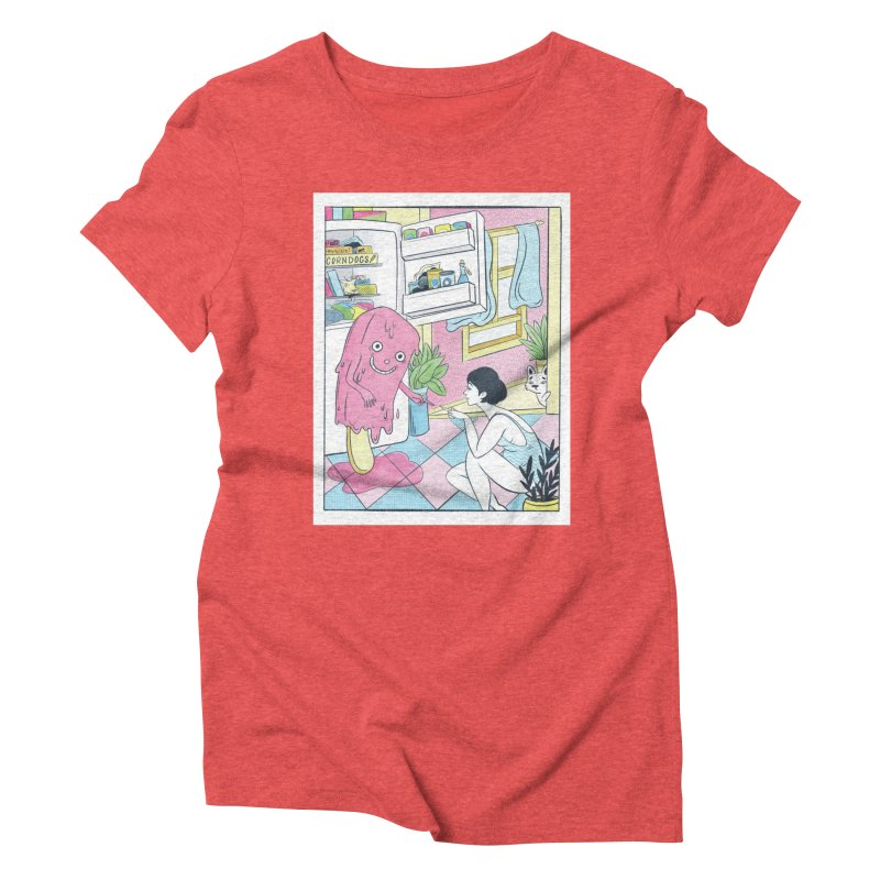 Summer Delirium Women's Triblend T-Shirt by Rhymes With Hell Studio