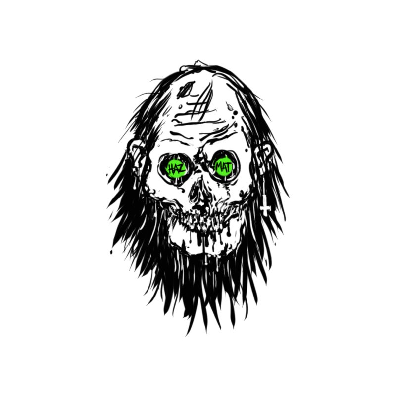 Fetid Skull Men's T-Shirt by