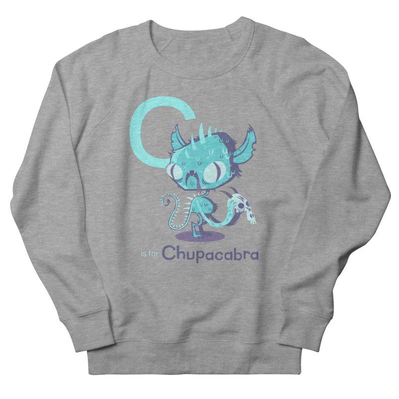 C is for Chupacabra Women's Sweatshirt by Hazy Dell Press
