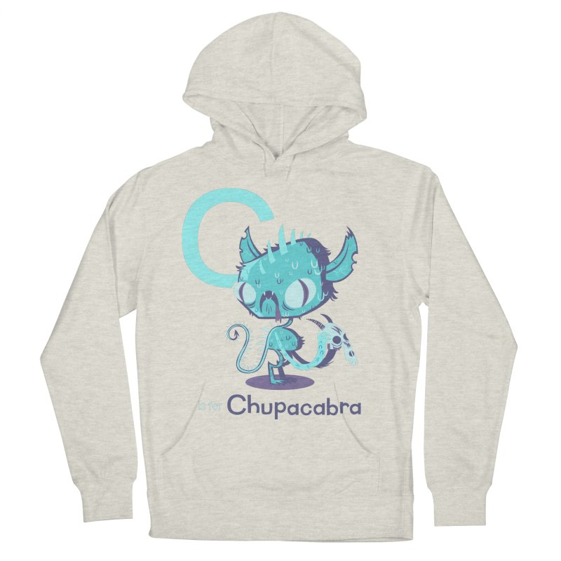 C is for Chupacabra Women's Pullover Hoody by Hazy Dell Press