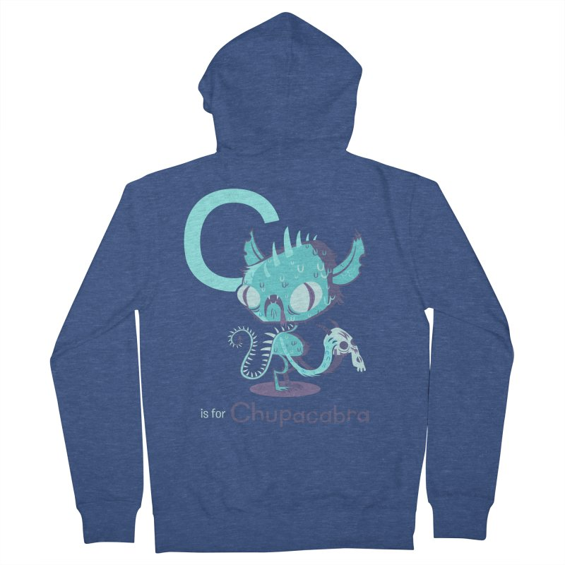 C is for Chupacabra Women's Zip-Up Hoody by Hazy Dell Press