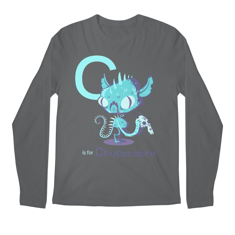 C is for Chupacabra Men's Longsleeve T-Shirt by Hazy Dell Press