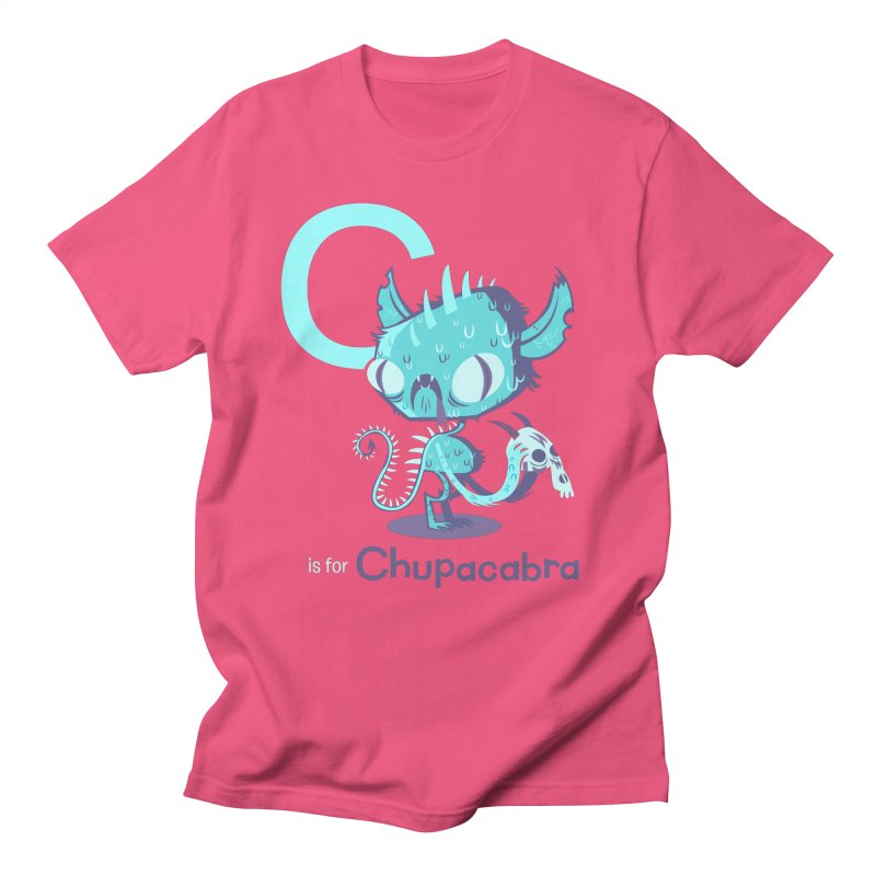 C is for Chupacabra Women's Unisex T-Shirt by Hazy Dell Press