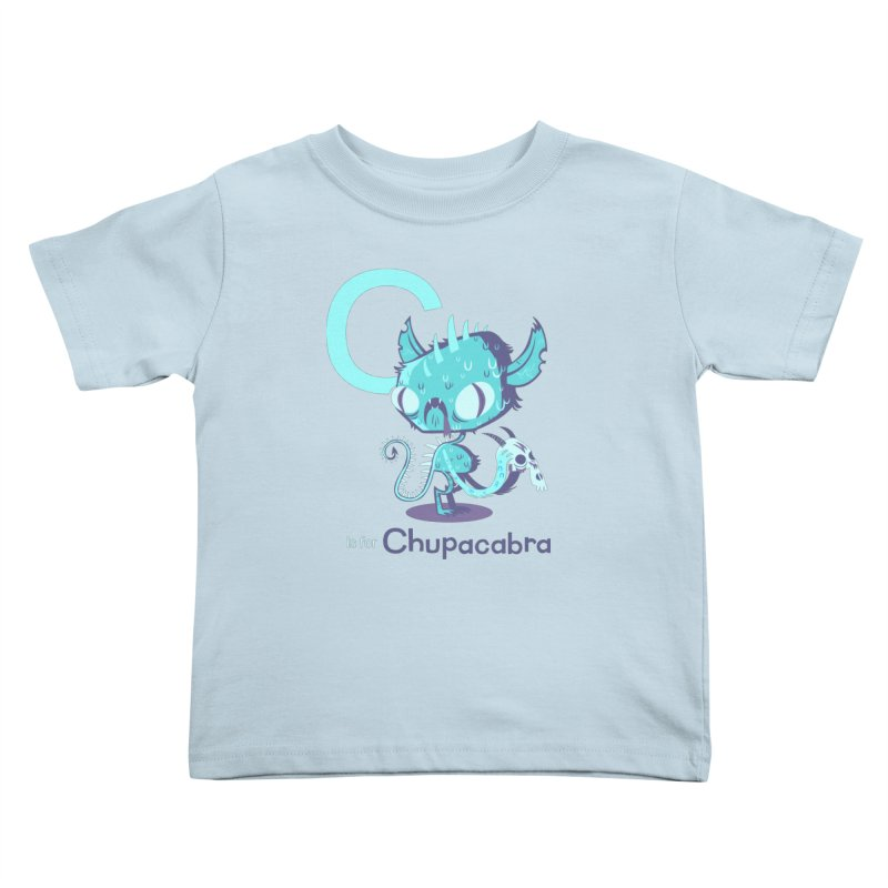 C is for Chupacabra Kids Toddler T-Shirt by Hazy Dell Press