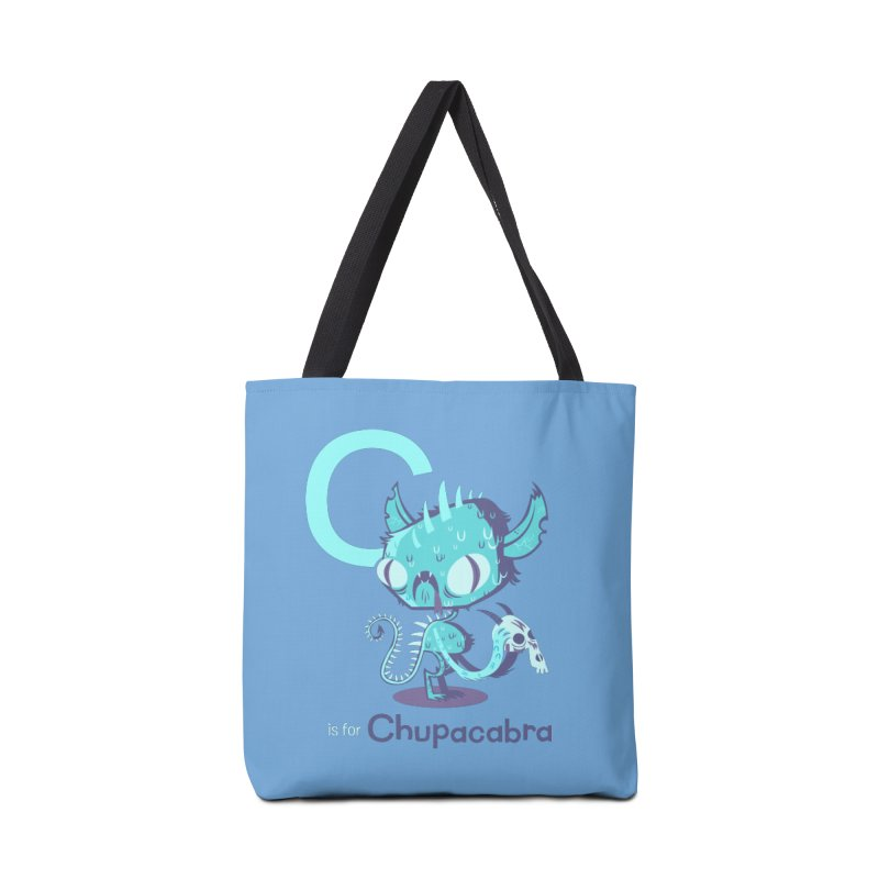 C is for Chupacabra Accessories Bag by Hazy Dell Press