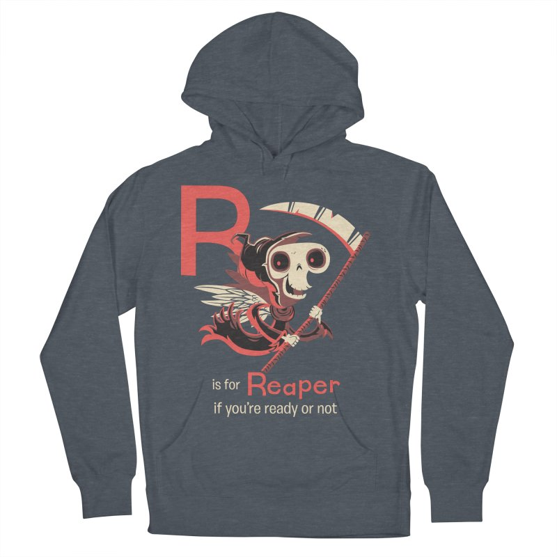 R is for Reaper Women's Pullover Hoody by Hazy Dell Press