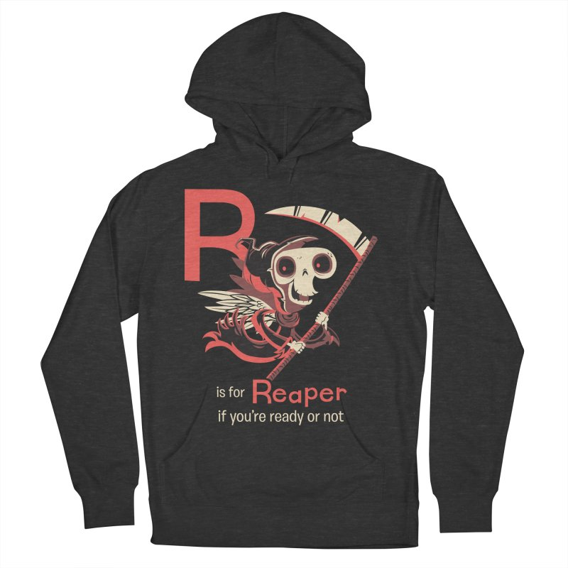R is for Reaper Men's Pullover Hoody by Hazy Dell Press