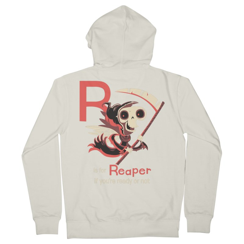 R is for Reaper Women's Zip-Up Hoody by Hazy Dell Press