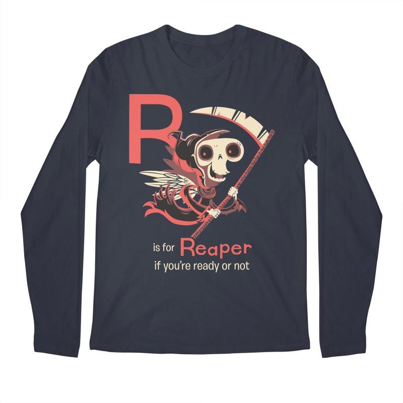 R is for Reaper Men's Longsleeve T-Shirt by Hazy Dell Press