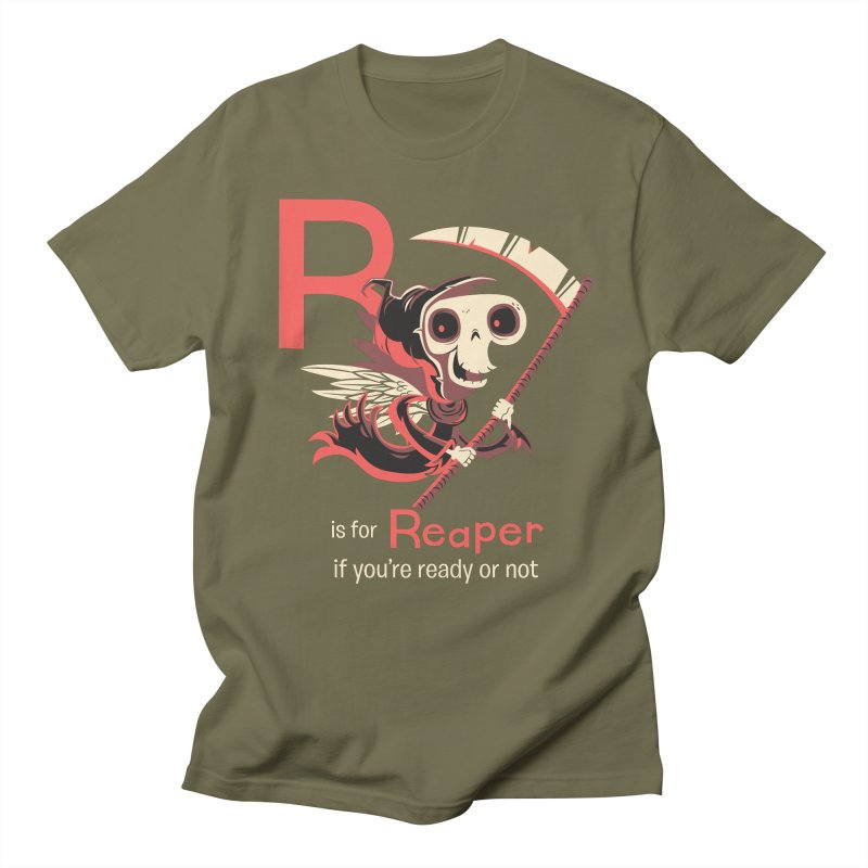 R is for Reaper Men's T-shirt by Hazy Dell Press