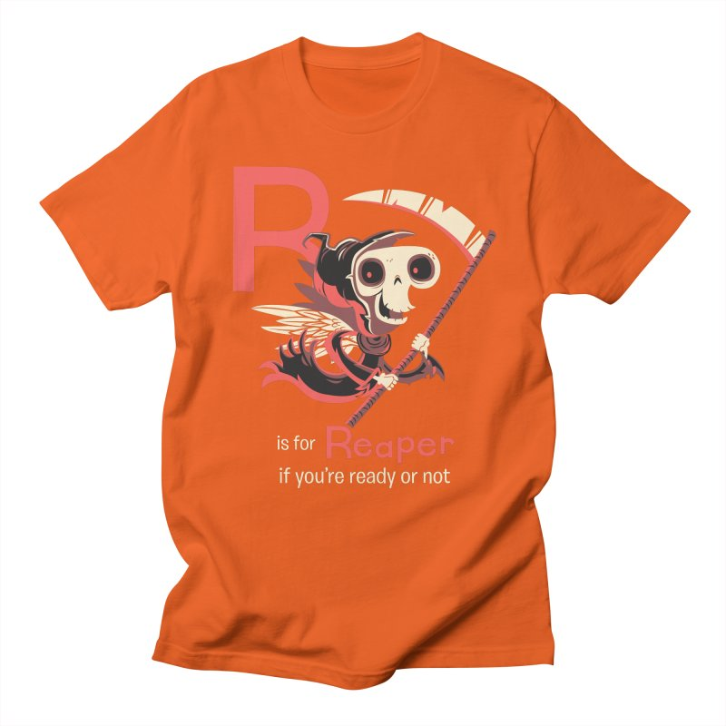 R is for Reaper Women's Unisex T-Shirt by Hazy Dell Press