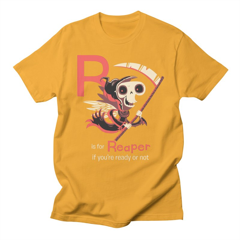 R is for Reaper Women's Regular Unisex T-Shirt by Hazy Dell Press
