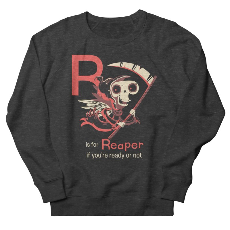 R is for Reaper Men's Sweatshirt by Hazy Dell Press