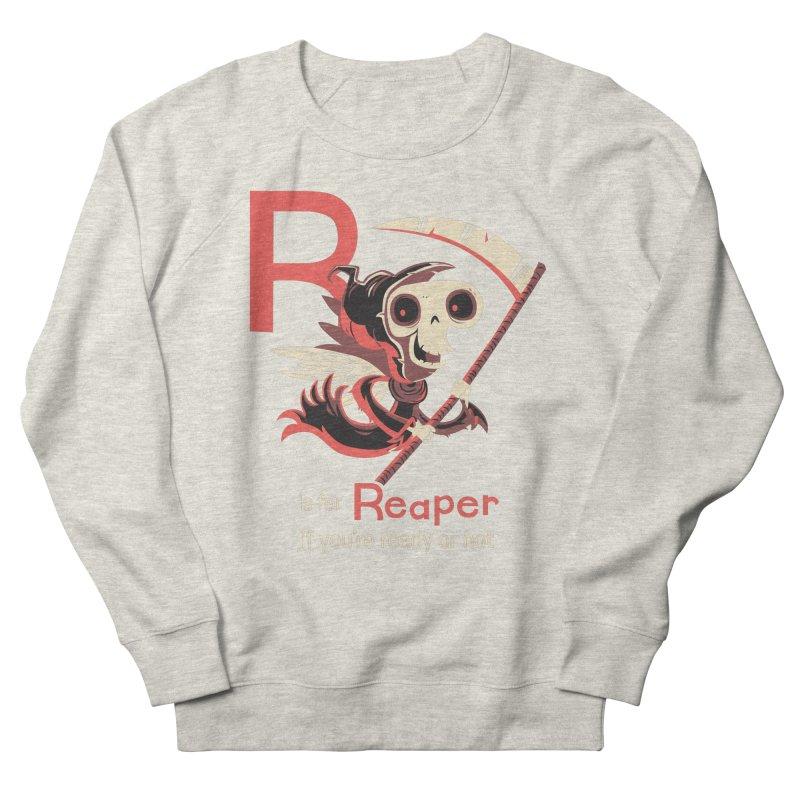 R is for Reaper Men's Sweatshirt by Hazy Dell Press