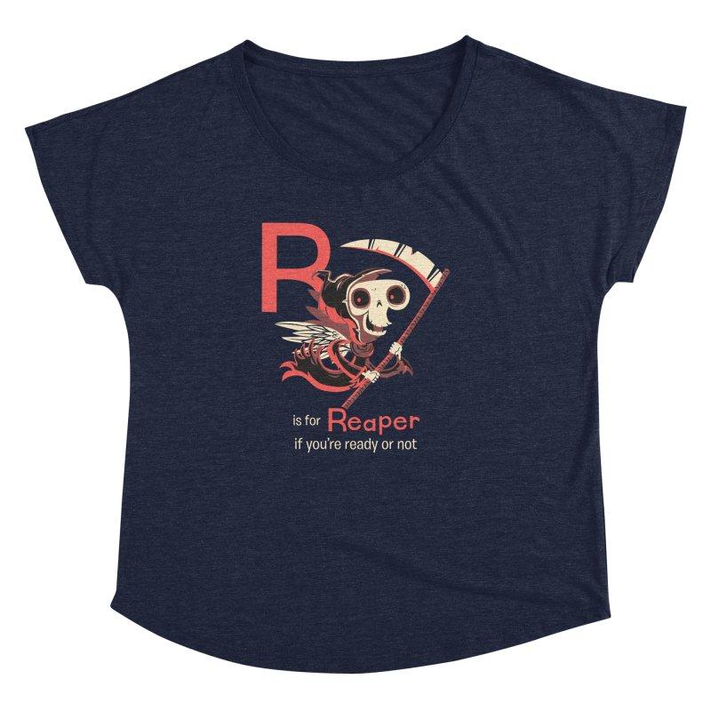 R is for Reaper Women's Dolman by Hazy Dell Press